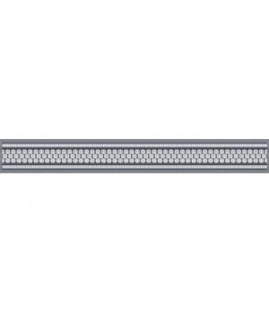 Керамический бордюр Эрмида 56-03-06-1020-2 серый