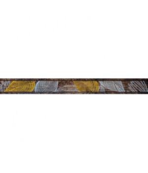 Керамический бордюр Foresta brown 01