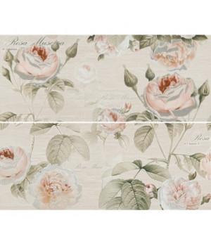 Керамическое панно Garden Rose beige 01