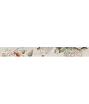 Керамический бордюр Garden Rose beige 01