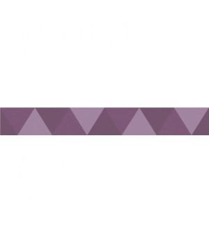 Бордюр керамический Geometrica Malva BW0GEO22