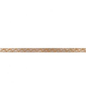 Керамический бордюр Гордес 38-03-15-414-0 коричневый
