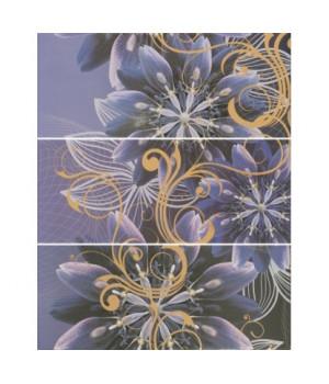 Керамическое панно Gracia violet 01