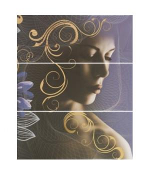 Керамическое панно Gracia violet 02