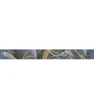 Керамический бордюр Gracia violet 01