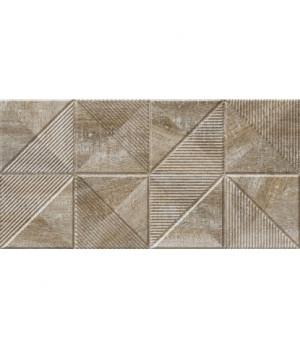 Керамическая плитка Астерия 1 декор коричневый