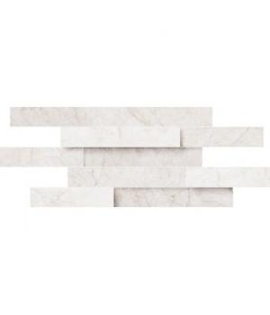 Конфетти белый блестящий, полотно 30х40 из 12 частей 9,9х9,9