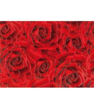 Керамический декор Престиж Роза красный