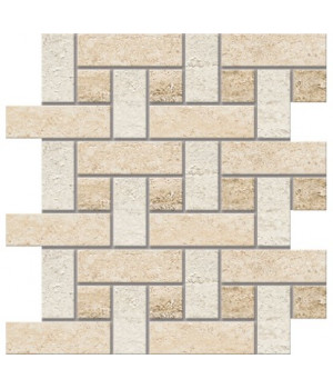 Декор Mosaico BORROMINI светло-бежевый напольный