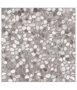 Керамический гранит Kama серый рельефный C-KI4R092D