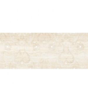 Керамический декор Lotus beige decor 01