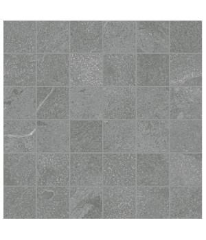Керамический декор Materia Carbonio Mosaico патинированный
