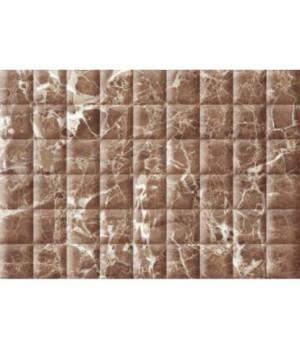 Керамическая плитка Медисон коричневый рельеф