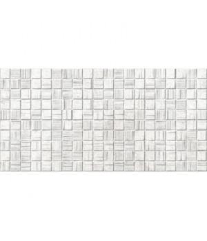 Керамическая плитка Мегаполис светло-серая мозайка