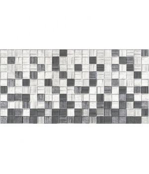Керамическая плитка Мегаполис серая мозайка
