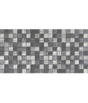 Керамическая плитка Мегаполис темно-серая мозайка