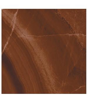 Керамическая плитка Неаполь коричневый Люкс напольная
