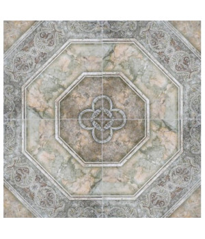 Керамическая плитка Лаура зеленый напольная