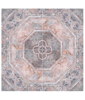 Керамическая плитка Лаура коричневый напольная