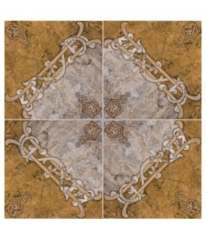 Керамическая плитка Арабская вязь напольная