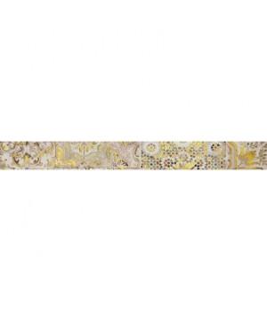 Керамический бордюр Patchwork beige 01