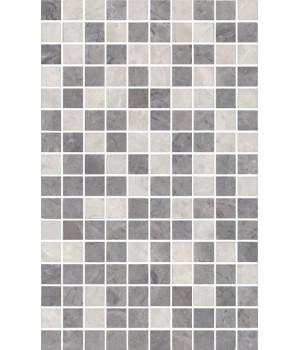 Декор Мармион серый мозаичный