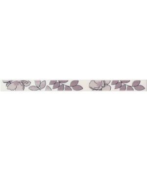 Бордюр Ньюпорт Цветы фиолетовый