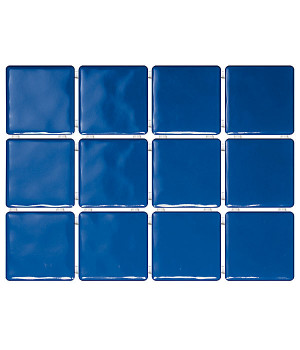 Бриз синий, полотно 30х40 из 12 частей 9,9х9,9