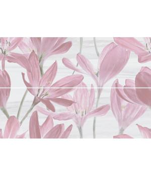 Панно Сады Форбури Крокус розовый обрезной