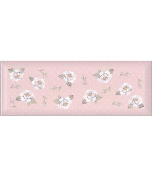 Веджвуд Цветы розовый грань