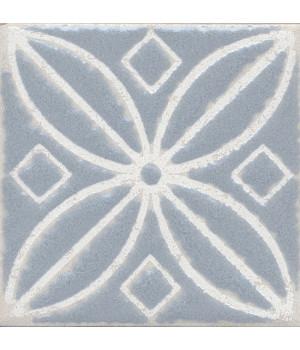 Вставка Амальфи орнамент серый