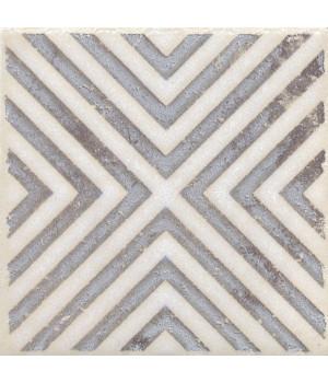 Вставка Амальфи орнамент коричневый