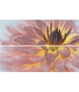 Панно Искья Цветы обрезной