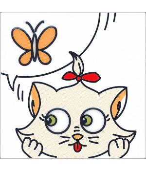 Декор Кошки-Мышки. Бабочка