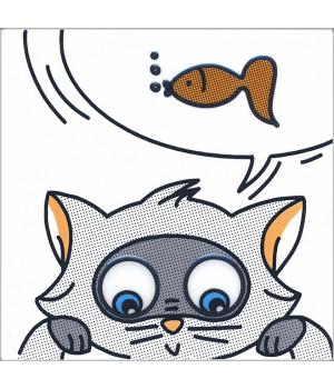 Декор Кошки-Мышки. Рыбка