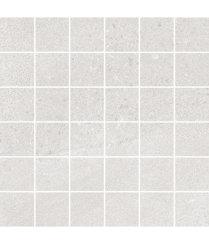 Декор Про Матрикс белый мозаичный