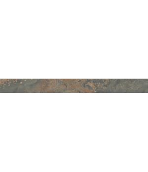 Бордюр Рамбла коричневый обрезной