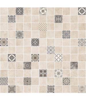 Керамогранит декор мозаика Астрид 5032-0291 30х30 кофейный