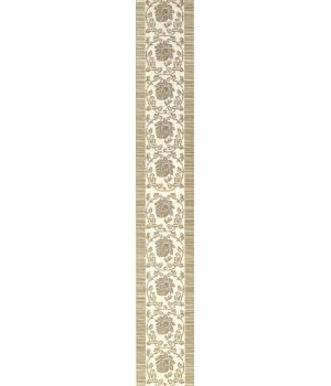 Бордюр настенный Белла 1503-0041 6х40 серый