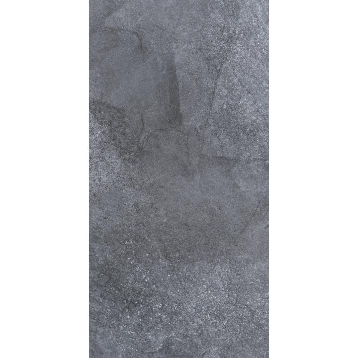 1041-0253 | Настенная плитка Кампанилья 1041-0253 20x40 тёмно-серая Lasselsberger Ceramics