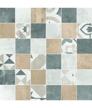 Настенная плитка декор Цемент Стайл 6132-0128 30x30 мозайка