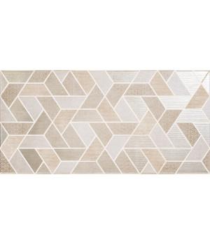 Настенная плитка Дюна декор 40x40 геометрия