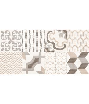 Настенная плитка Дюна 1041-0293 20x40 фантазия