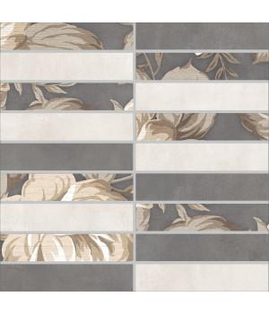 Настенная плитка мозаика Фиори Гриджо 1932-0012 30х30 разноцветная