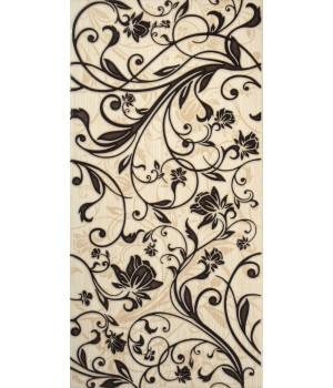 Настенная плитка Кураж 1641-0056 20х40 декор 3