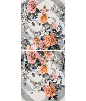Панно Лофт Стайл 1609-0020 45х100 (комплект из 4 шт)