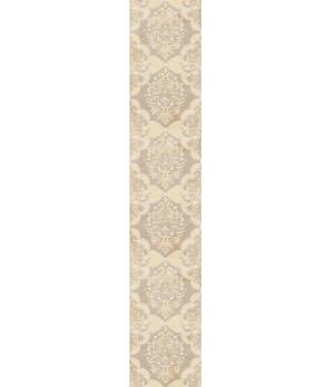 Бордюр настенный Магриб 1507-0010 7,75x45 коричневый