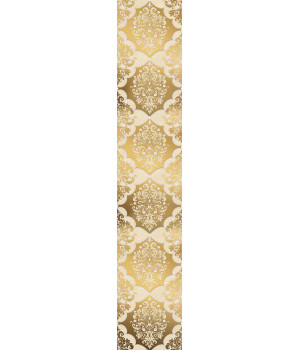 Бордюр настенный Магриб 1507-0011 7,75x45 золотой