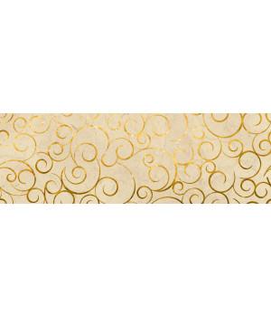 Настенная плитка декор Миланезе Дизайн 1664-0142 20х60 флорал крема
