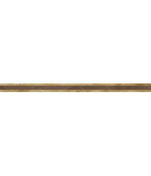 Бордюр настенный Миланезе Дизайн 1506-0159 3,6х60 римский марроне